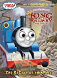 img - for The Secret of the Mine (Thomas & Friends) (Glow-in-the-Dark Sticker Book) book / textbook / text book