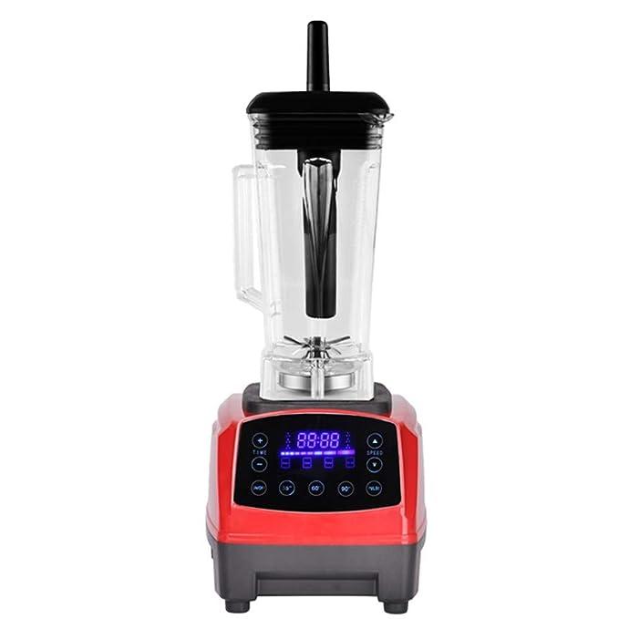 Pantalla Táctil Automática Del Exprimidor - Temporizador Inteligente Digital Mezclador De 2L Fruta Del Alimento,Red,EU: Amazon.es: Hogar