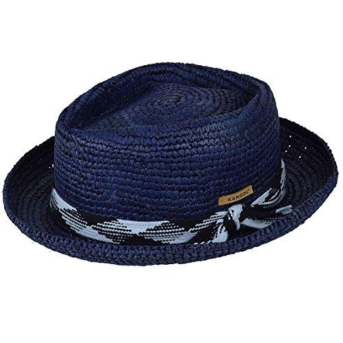 Fedora Hats Kangol (Kangol Men's Knot Fedora Trilby Hat, Navy, XL)