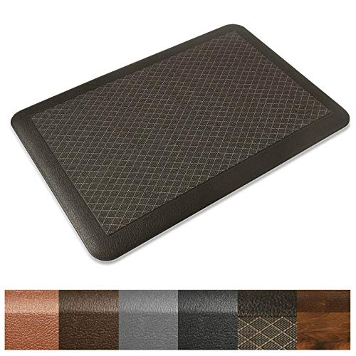 - Kitchen Mat | Anti Fatigue Mat, 3/4 Thick | Ergonomically Engineered, Non-Slip, Waterproof | 20
