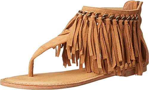 Not Rated Women's Keep The Peace Sandal - Tan - 6.5 B(M) US