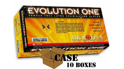 Microflex - Evolution One Powder-free Latex Examination Gloves - Case Size X-small