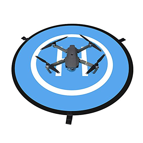 Drone-Landing-PadAwaytoy-295-75cm-2-side-Helipad-for-DJI-Phantom-2-3-4Mavic-pro-Blue-Orange