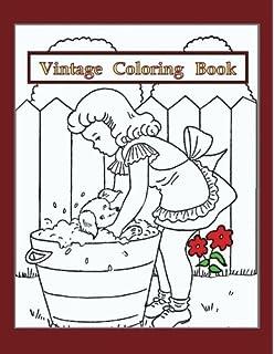 Amazon.com: The Vintage Coloring Book (9781626864726): Editors of ...