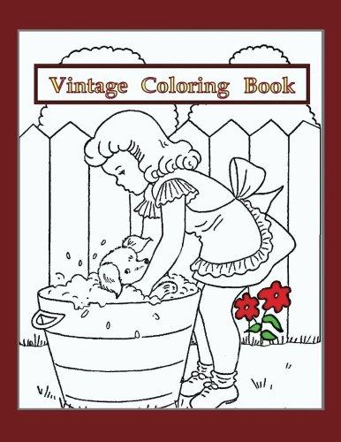 Download Vintage Coloring Book: Vintage drawings from 1944 (Volume 1) pdf epub