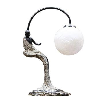 JINRONG-lamp Lampe De Table Lampes Table Et Chevet-Zen Chambre Lampe ...