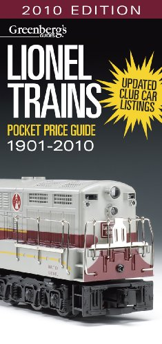 Lionel Trains Pocket Price Guide 1901 2010  Greenbergs Guides