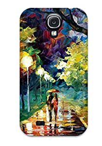 Lucas B Schmidt's Shop Best S9WEGZENXBRWUSH9 Hot Design Premium Tpu Case Cover Galaxy S4 Protection Case(abstract Painting)