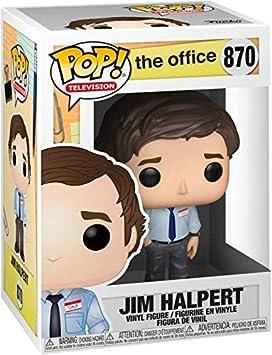 Funko TV: The Office - Jim Halpert Pop! Vinyl Figure (Includes Compatible Pop Box Protector Case)