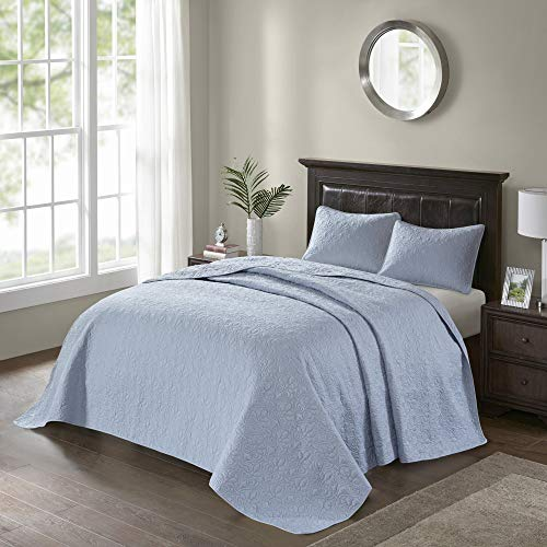 Madison Park MP13-1564 Bedspread Set, King, Blue