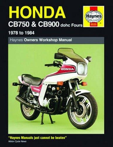 - Haynes Repair Manual for Honda CB750 and CB900 dohc Fours (1978-1984)