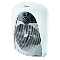 Holmes Digital Bathroom Heater Fan with Pre-Heat Timer and Max Heat Output, H...