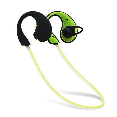 ONKO Bluetooth auriculares, mejor inalámbrico Sport auriculares, IPX6 impermeable HD estéreo auriculares a prueba