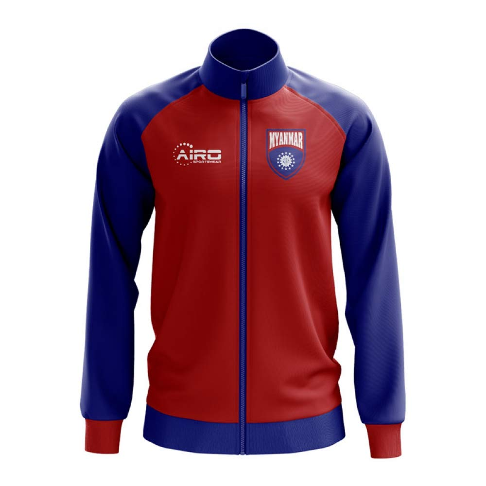 Airo Sportswear Myanmar Concept Football Track Jacket (ROT)