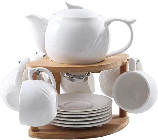 Juego de tazas de café espresso Continental de cerámica de 6 ...