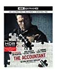 Accountant, The (4K Ultra HD + Blu-ray + Digital HD) (4K Ultra HD)Christian Wolff (Ben Affleck) is a math savant with more affinity for numbers than people. Behind the cover of a small-town CPA office, he works as a freelance accountant for some of t...