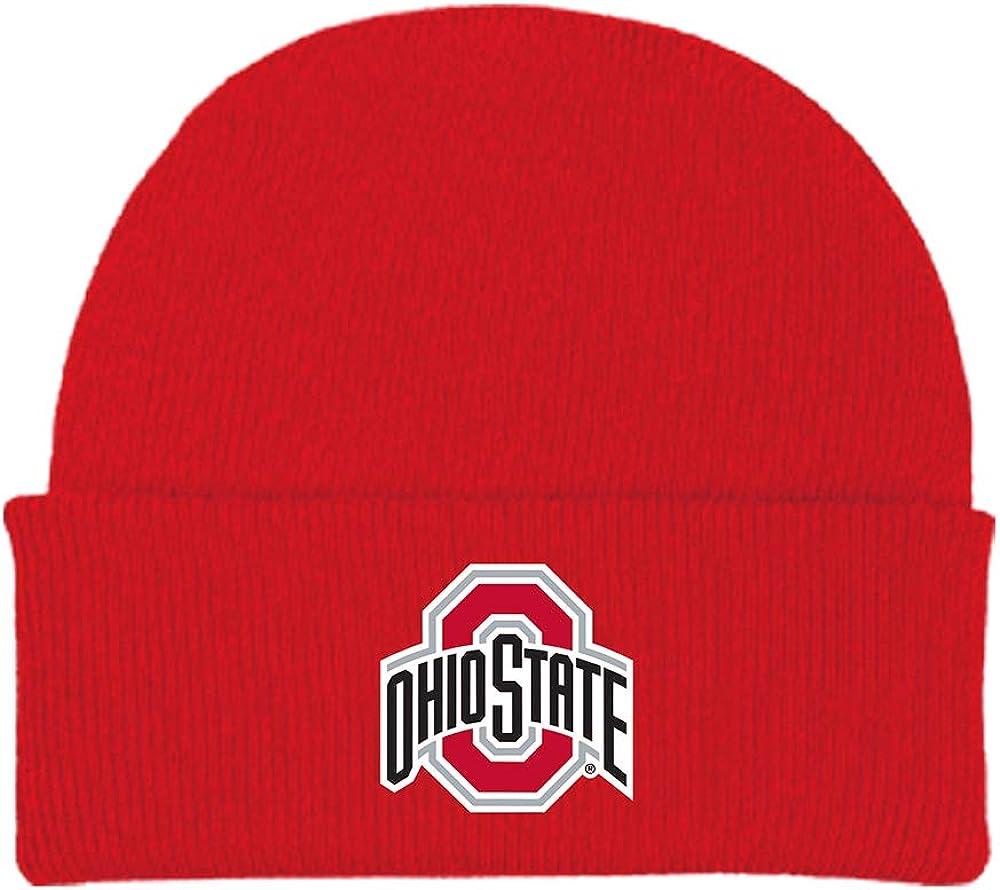 Two Feet Ahead NCAA College Newborn Baby Knit Hat Cap