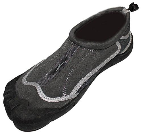 Wims Men's Skeletoe Comfortable Aqua Socks For Pool