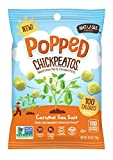 POPPED Chickpeatos Caramel Sea Salt 100cal 12 pack
