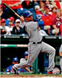 Michael Young Texas Rangers Unsigned 8 x 10 Photo 2