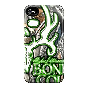 JackieAchar Scratch-free Phone Case For Iphone 4/4s- Retail Packaging - Bonecollectorrealtre