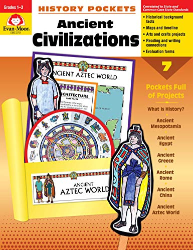 History Pockets: Ancient Civilizations, Grades 1-3 (For History Elementary Curriculum)