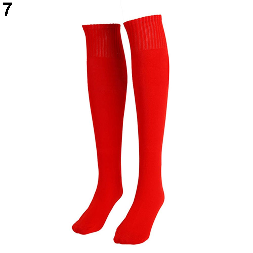 little finger Stylish And Durable Household Items Unisex Football Plain Long Sock Sport Knee High Large Hockey Soccer Rugby Stocks