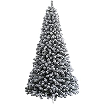 Amazon.com: KING OF CHRISTMAS 6 Foot Prince Flock Artificial ...