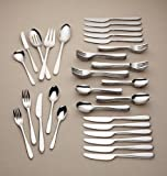 Lenox Stratton 65-piece No Caddy Flatware Set - Casual, Fine