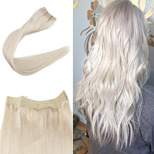 Promotion Full Shine Halo Real Hair Extensions 16