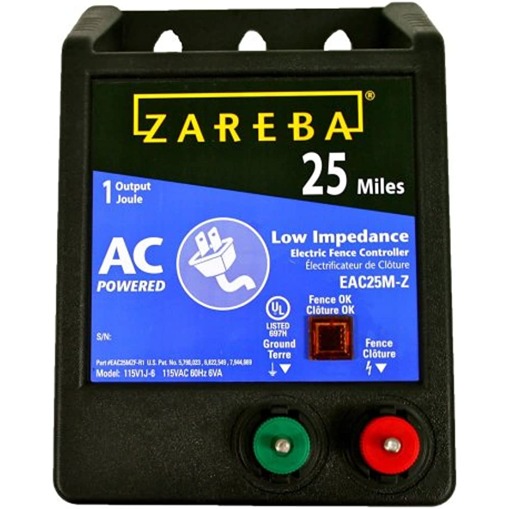Eac25mz Miles Low Impedance Electric Fence Charger Powers