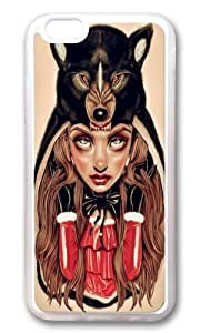 Apple Iphone 6 Case,WENJORS Adorable Red Riding Hood Soft Case Protective Shell Cell Phone Cover For Apple Iphone 6 (4.7 Inch) - TPU Transparent