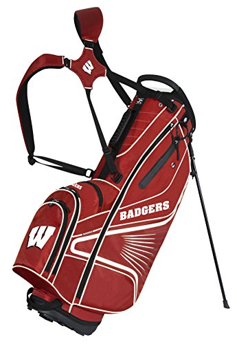 Team Effort Wisconsin Badgers Gridiron III Stand Bag
