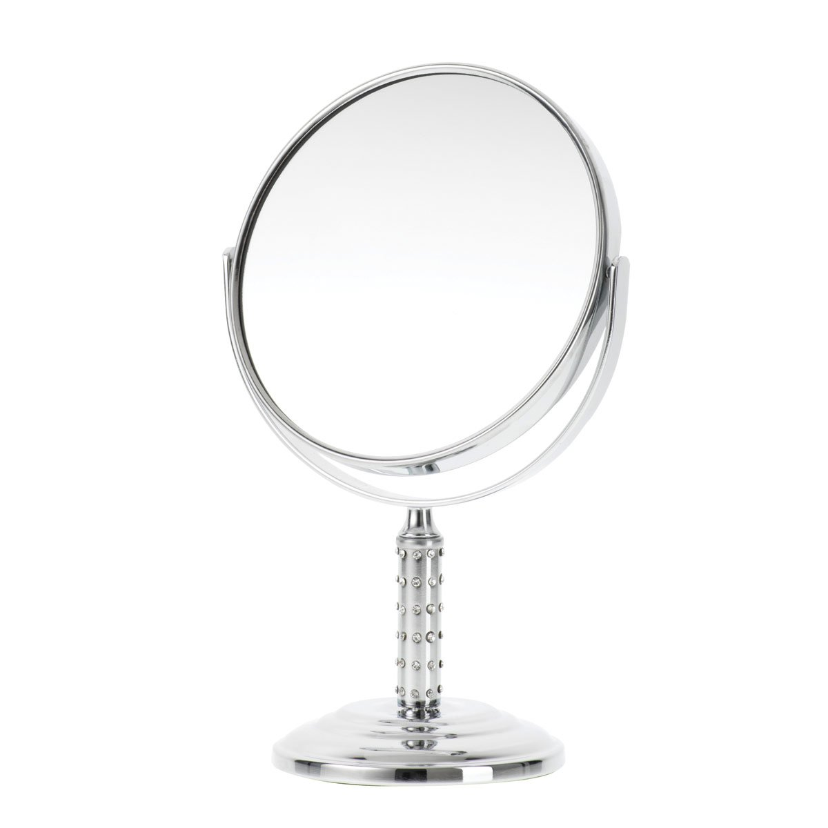 Danielle 15.2cm Double Sided Mirror x 5 Magnified D629