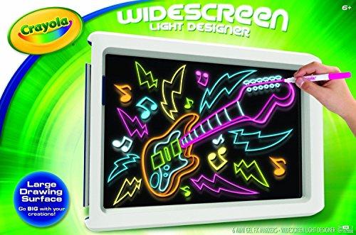 Crayola Widescreen Light Designer 74 7053