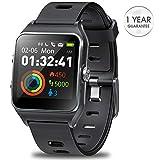 DR.VIVA GPS Watch for Men Women, Activity Tracker GPS Running Watch Touch Screen Smart Watch Heart Rate/Sleep/Step/Counter Monitor Sports Watch with 17 Sport Mode