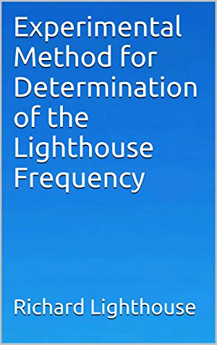 Experimental Method for Determination of the Lighthouse Frequency