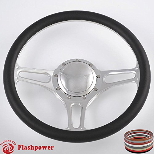 Billet Half Wrap Steering Wheel - 14