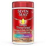 Seven Seas Cod Liver Oil and Multi Vitamins 90 Capsules For Sale