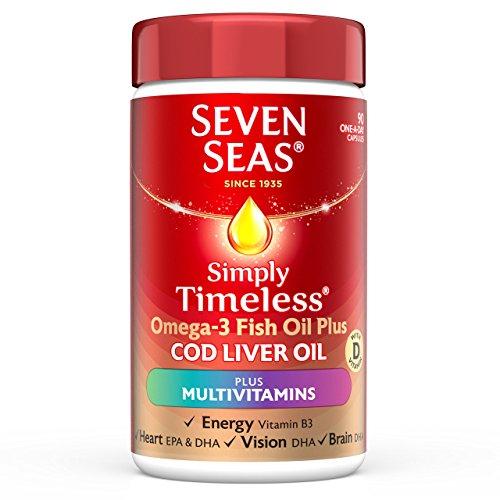 Seven Seas Cod Liver Oil and Multi Vitamins 90 Capsules