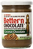 Better'n Peanut Butter Chocolate Spread, Coconut, 16 Ounce