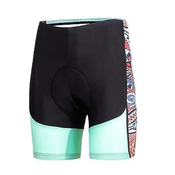 LUCKY-U Pantalones Cortos De Ciclismo, Ropa Interior De Ciclismo De Secado Rápido con