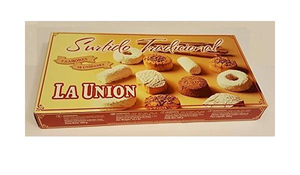 Caja de mantecados y polvorones surtidos La Unión - 300 g ...