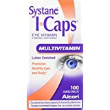 SYSTANE ICAPS Eye Vitamin & Mineral Supplement, Multivitamin Formula, 100 Coated Tablets