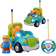 Amazon Lightning Deal 90% claimed: Holy Stone RC Cement Mixer Truck Remote Control Toys for Toddlers & Pre-Kindergarten