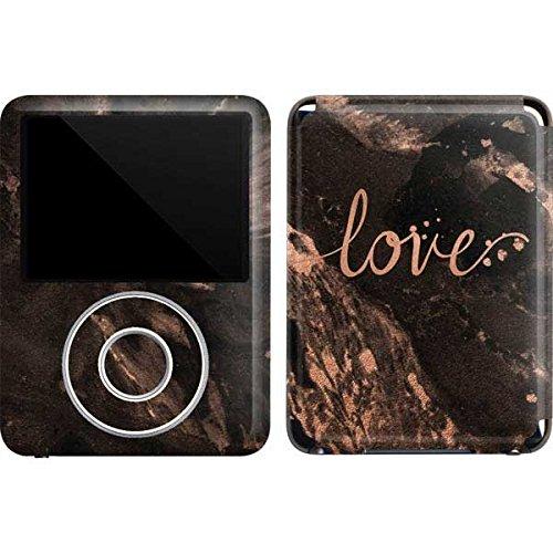 Love iPod Nano (3rd Gen) 4GB&8GB Skin - Love Rose Gold Black Vinyl Decal Skin for Your iPod Nano (3rd Gen) 4GB&8GB (Ipod Nano 3rd Gen 8gb)