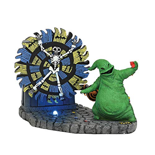 Department 56 Nightmare Before Christmas Village Oogie Boogie Gives a Spin -  6004819