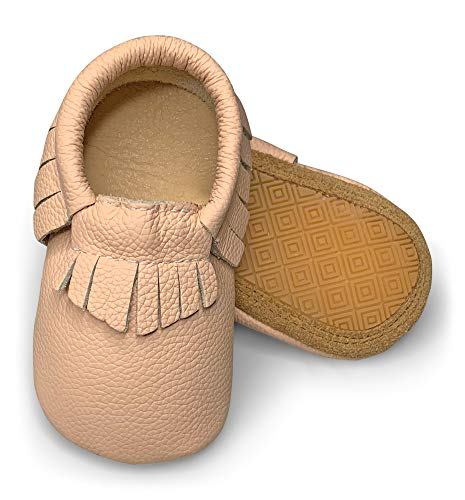 Lucky Love Baby Moccasins  Premium Leather  Infant, Baby & Toddler Shoes for Girls and Boys