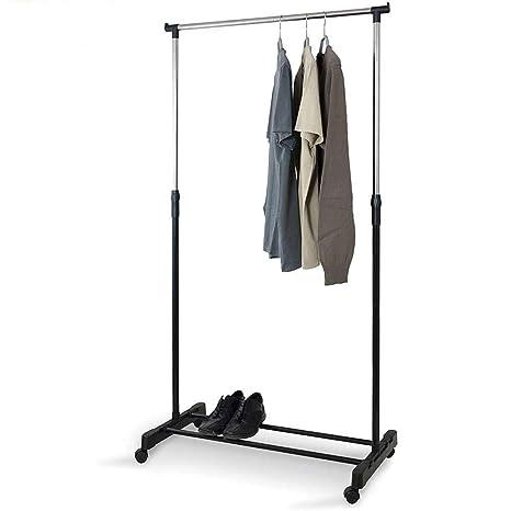 Perchero movil, zapatero, altura regulable: 90-164 cm, ancho ...