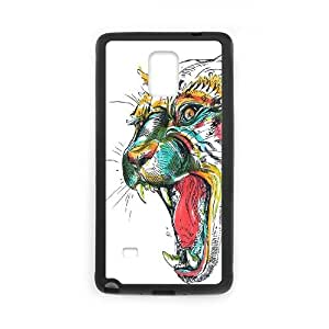 ZK-SXH - Jaguar Diy Cell Phone Case for Samsung Galaxy Note 4, Jaguar Personalized Cover Case